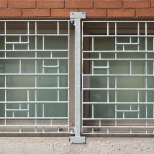 Nouveaux grillages de protection inspirés par la trame des allèges de céramique