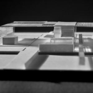 La maquette d'étude pour la gare de Djelfa